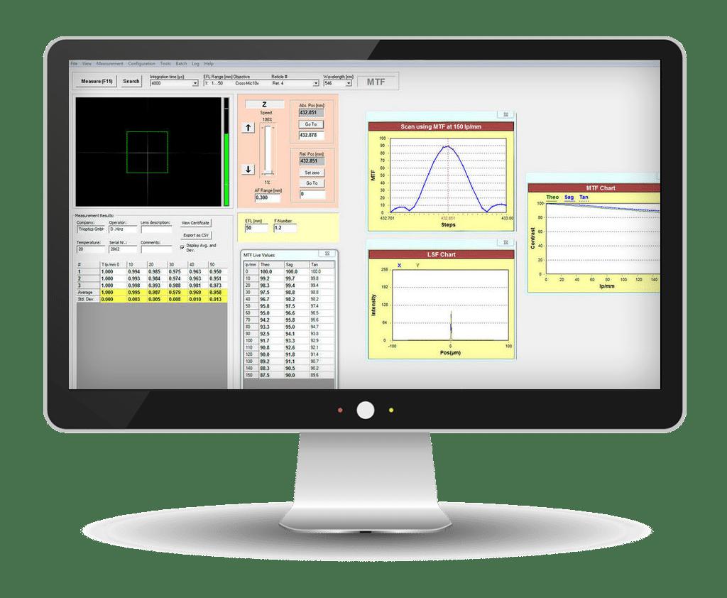 OptiSpheric® Software