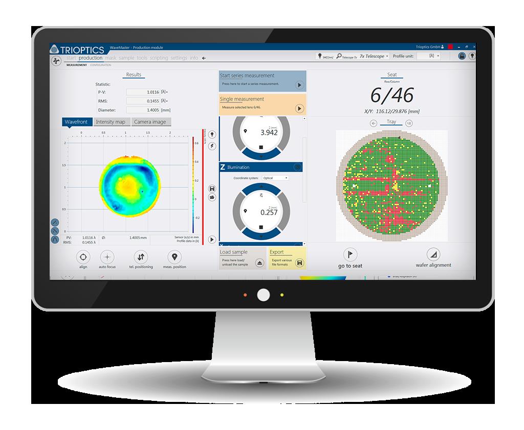 TRIOPTICS Software WaveSensor® WaveMaster®