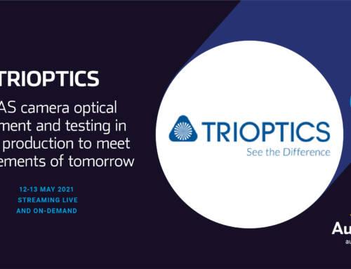 ADAS Camera Alignment Topic: TRIOPTICS at AutoSensONLINE