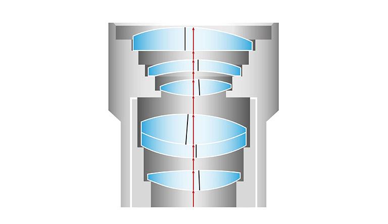 FIG-3_Objektiv-mit-Linsenfehlern-Zeichnung