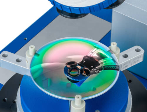 OptiCentric® 101 IR achieves unprecedented accuracy in centration measurement of infrared lenses